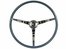1964 1/2 Ford Mustang Reproduction Blue Steering Wheel with Horn Ring