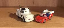 Disney Pixar Cars Diecast Lot Rare Autonaut  Lightning McQueen & Autonaut Mater