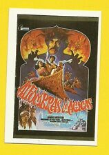 Magic Carpets 1984 Spanish Movie Collector Card  Christopher Lee  Peter Cushing