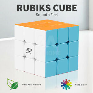 Magic Cube 3x3x3 Magic Rubiks Puzzle Rubics Rubix Toy for Kids Educational Gift