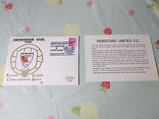 HEREFORD United 1st HOME MATCH in LEAGUE 1972 CALCIO PRIMO GIORNO DI COPERTURA