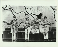 The Beatles Vtg B/W Promo 8x10 Photograph Rock Photo Sgt Pepper John Lennon