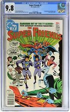 S319. SUPER FRIENDS #7 by DC CGC 9.8 NM/MT (1977) 1st App. of the WONDER TWINS