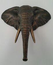 Wall Mount Elephant Head Figurine Sculpture Home Decor CLEARANCE SALE