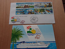 PNG - Tourism -  Visit South Pacific year '95 - MNH stamp set + FDC