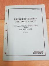 BRIDGEPORT SERIES 1 MANUAL