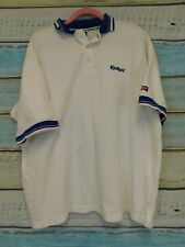 Men's white Kickers polo shirt XL chest 50 to fit 46 length 28