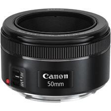 CANON EF 50mm f/1.8 STM Macro Telephoto Lens Black for DSLR Cameras New SALE UK