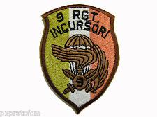 Patch Militare Scudetto 9 Col Moschin desert