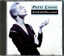 PATTI LAYNE - DESHABILLEZ-MOI  CD MAXI 1987