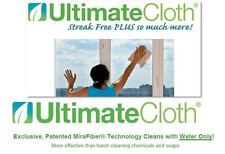 ULTIMATE CLOTH STREAK FREE 12 pack safe all surface electronics mirrors car RV