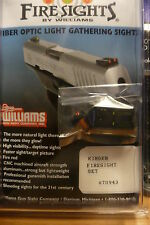 WILLIAMS GUN SIGHT FIBER OPTIC SIGHTS FOR KIMBER MODEL DOVETAIL(EXCEPT SIS) NEW