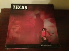 "TEXAS - SPANISH 12"" MAXI SPAIN WHY BELIEVE IN YOU"
