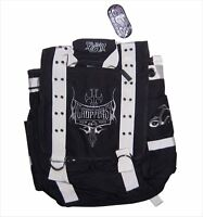 ORANGE COUNTY CHOPPERS OCC BIKER BLACK MESSENGER BAG BACK PACK BACKPACK NEW