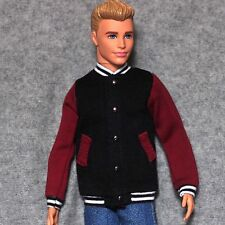 "Handmade doll Baseball Jacket clothes for  12""  ken dolls"