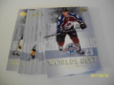 LOT OF 10 world's best 2004-05 # WB8 TO WB 17: JAGR-LEHTONEN,...