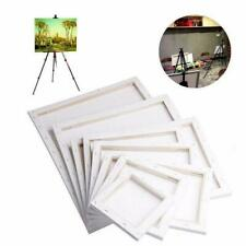 Blank Square Art Canvas Wooden Board Painting Frame Diy Decor S8Q4