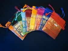 Luxurious Wedding Gift Pouches Party Favor Organza Gift Bag Jewelry Bag 5x7 inch