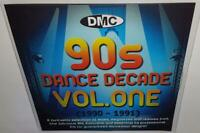 DMC 90s DANCE DECADE VOL 1 BRAND NEW DJ REMIX SERVICE MEGAMIX REMIX CD
