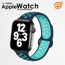 Correa Silicona Apple Watch para iWatch Series 1/2/3/4/5/6 38-40mm/42-44mm Sport