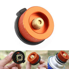 Camping Head Conversion Tank Gas Bottle Adaptor Stove Connector Burner SP