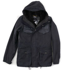 NWT $675 BARBOUR for LAND ROVER 'Informer' Waxed Coat with Berber Lining M