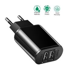 Dual USB Charger 2xUSB EU Portable Travel Wall Plug FAST Charger iPhone Adapter