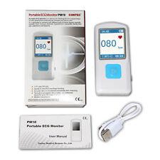 Pm10 Handheld Portable Ecg Machine Recorder Heart Beat Ekg Monitor Usbbluetooth