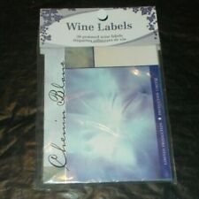 Wine Labels New 30 Gummed Shiraz B Sealed Package Craft Winemaking New