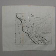Map Peru Antonio de Herrera y Tordesillas