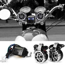 12V Waterproof Motorcycle Bike Bluetooth MP3 Music Player FM Radio Clock Audio