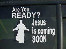 Jesus Coming,Christian,Faith,Religious,End Times,Vinyl Decal