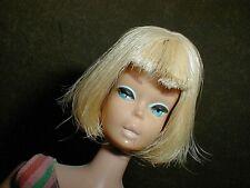 BARBIE AMERICAN GIRL LONG HAIR DOLL BEAUTIFUL MAKE-UP & WHITE LIPS