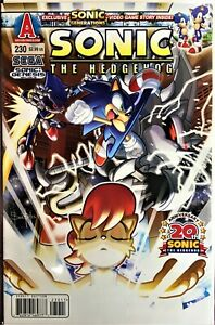 SONIC The HEDGEHOG Comic Book Issue #230 December 2011 Sonic Generations 2  NM-
