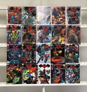 Superman/Batman Dc 20 Lot Comic Book Comics Set Run Collection Box
