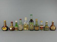 LOT  x10  Mignonnette ALCOOL / BARTISSOL / CUSENIER / BRAZA / LONG JOHN / ETC...
