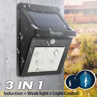 3 in 1 35 LED Solar Lampe Solarleuchten Bewegungsmelder Gartenlicht  3