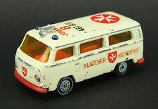 "Siku 1619 VW T2 Bus ""Malteser Hilfsdienst"" Ambulance Very Rare"