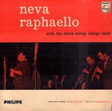 "NEVA RAPAELLO & DUTCH SWING – When you´re Smiling (1958 JAZZ EP 7"" HOLLAND)"
