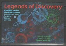 MARSHALL ISLANDS SG446/MS452 1992 LEGENDS OF DISCOVERY BOOKLET MNH