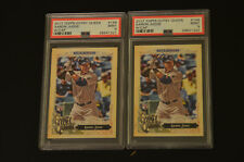 2 X 2017 Topps Gypsy Queen #168 Aaron Judge Rookie Cards  PSA 9 MINT