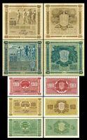 Finlandia - 2x 5, 10, 20, 50, 100 Mark  - Edición 1922 Litt. A - Reproducción 17