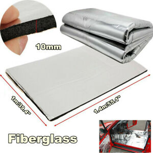10mm Car Sound Proofing Heat Noise Insulation Deadening Closed Cell Foam 1.4M*1M