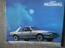vintage 1979 ford mustang Car brochure very informative 19 pages Original
