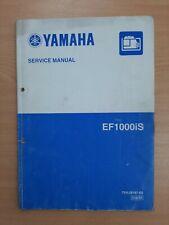 Yamaha EF1000 Owners Workshop Service Manual