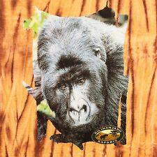 Disney Mens Large Animal Kingdom Gorilla Tie Dye Ape Monkey Chimp World T Shirt