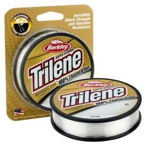 Berkley Trilene 20 Lb Clear 100% Fluorocarbon Professional 200 Yd Fishing Line