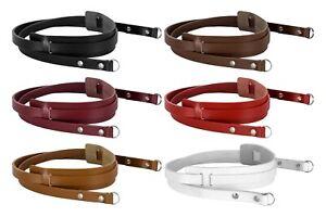 Real Leather Camera Straps Neck Shoulder Belt For SLR DSLR Cameras Binoculars
