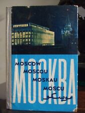 Russia, Moscow, 1955 Travel Tourism Book