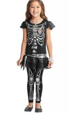 "Chasing Fireflies Girl Costume "" Skeleton Bling "" Size 10"